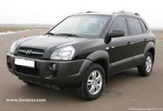 Прокат авто Hyundai Tucson с водителем